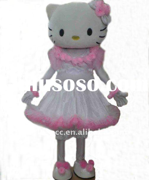 adult hello kitty character mascot costumes for wedding