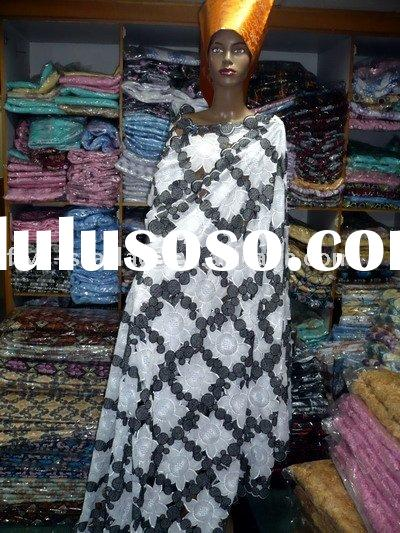african handcut voile lace 005