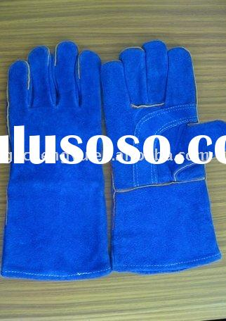 cow shoulder split leather welding gloves