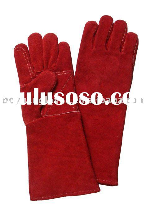 cow split welding gloves