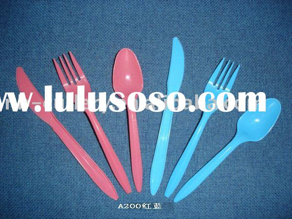 disposable plastic fork knife spoon