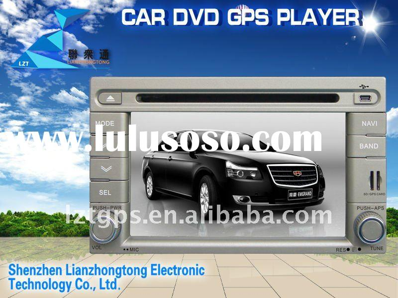 double din 6.2 inch in dash special car dvd player gps for geely emgrand with bluetooth radio tv (Fa
