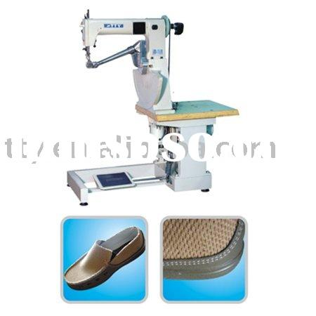 double threads lock stitch seated type shoe-border Stitcher