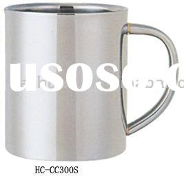 double wall stainless steel coffee cup
