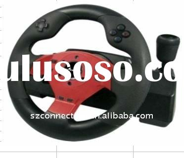 for PS2/PS3/PC wireless racing wheel