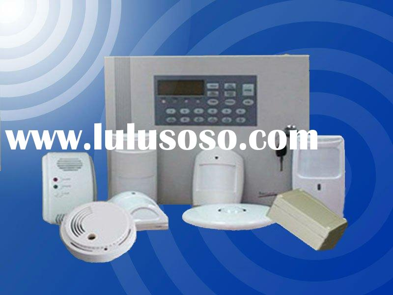 gsm intruder alarm with touch keypad wireless