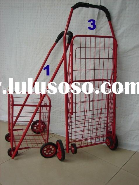 heavy duty foldable wire shopping carts