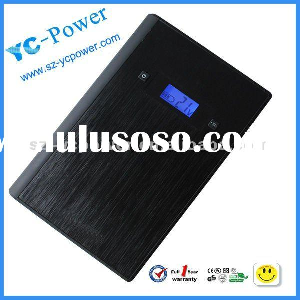 high capacity 18000 mAh Battery Charger,Power Bank for mobile ,laptop ,5V/9V/12V/16V/18V19V/20V/21V
