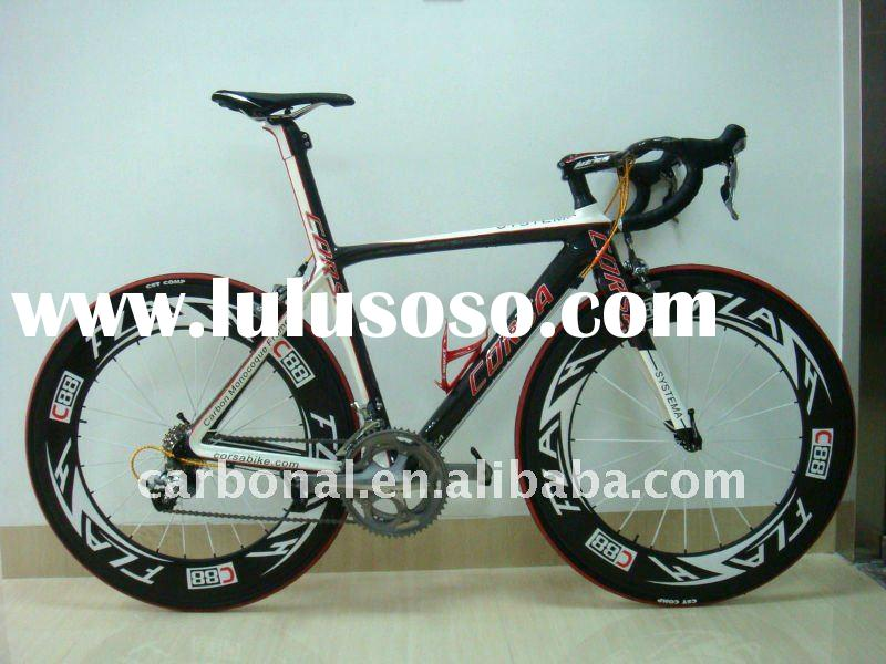 high quality 1K finished carbon fiber bicycle road 3