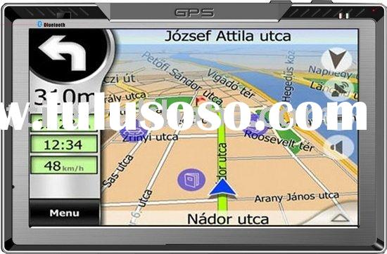 high resolution 7inch car gps device