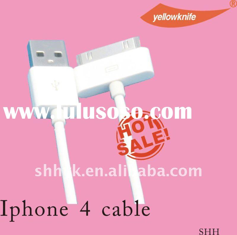 high speed good qulaity USB cable for iphone 4 cell