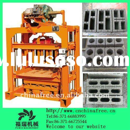 hollow clay cement fly ash brick block machine