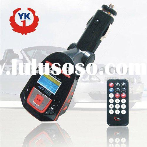 hot product car audio Car MP3 Player with FM transmitter
