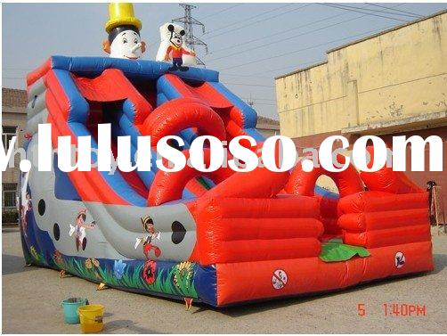 hot selling clown inflatable water slide for summer