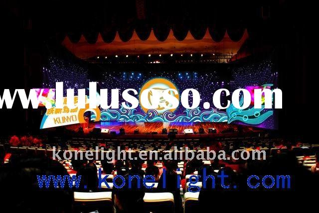 led star cloth RGB / stage backdrop light / wedding decoration /party light