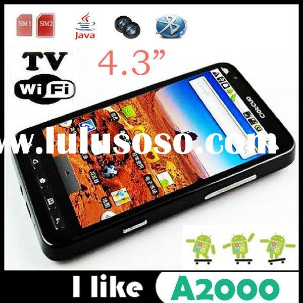 manufacturer Star A2000 Android 2.2 Dual SIM Quad Band Built-in GPS 4.3 Inch Big Screen MTK6516 Dual
