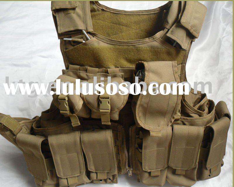 military gear vest