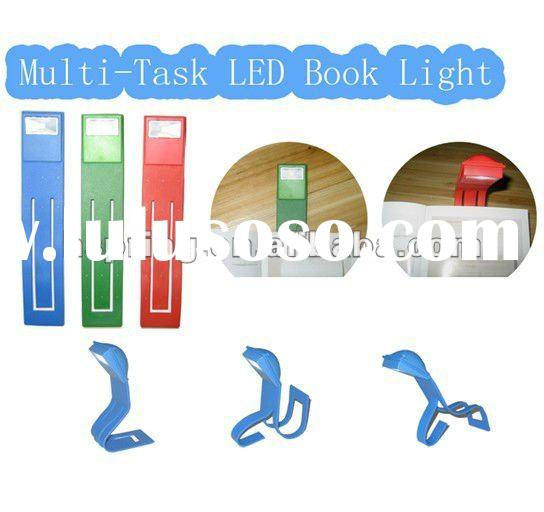 multifunctional led clip book light