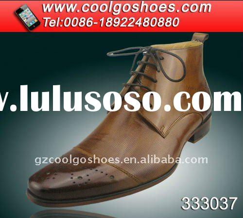 new arrival pure italian design mens leather boots