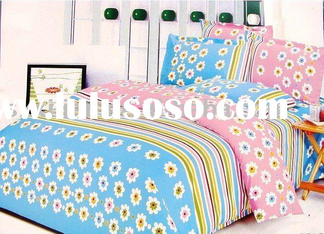 peach skin bedding sheets/bed set