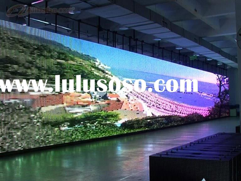 pixel 40 outdoor led coustic transparent screen or mesh pixel screen&glass wall led screen