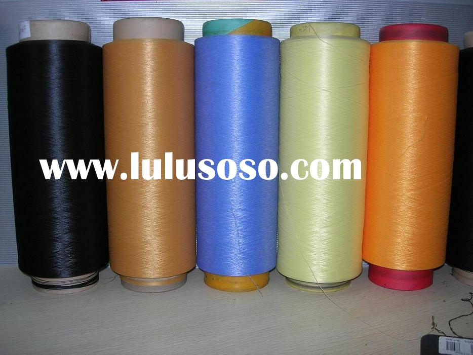 polyester DTY dope dyed any colors yarn
