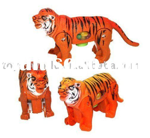 promotion toy gift, holiday gift toy, candy toy, wind up tiger HJ570084