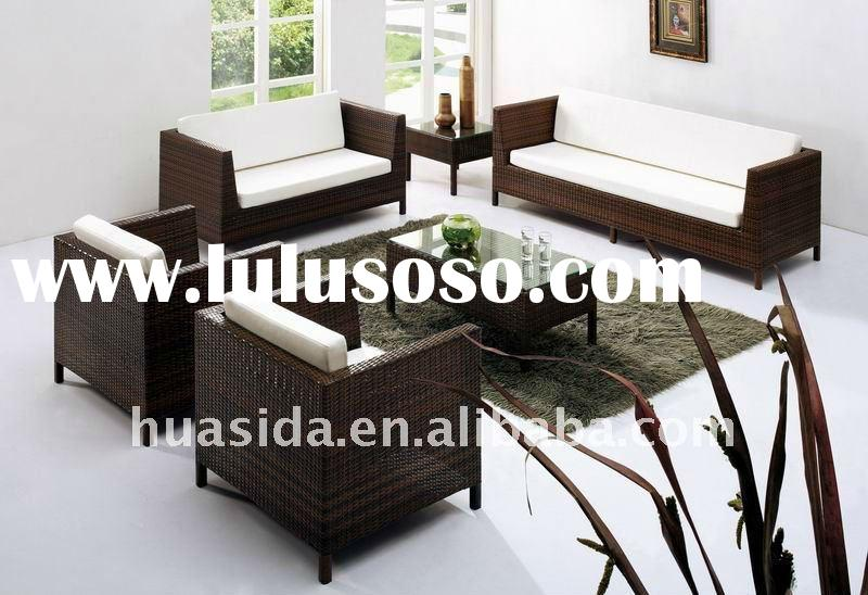 rattan sofa sets for living room 2012