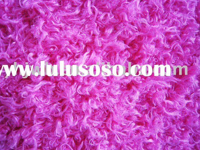 rose polyester knitting fabric