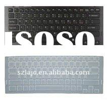 silicone laptop keyboard skin for sony VAIO Z Series