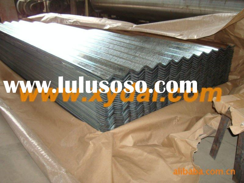 supply high corrosion resistance corrugated roof sheets for commercial,industrial,agricultural metal
