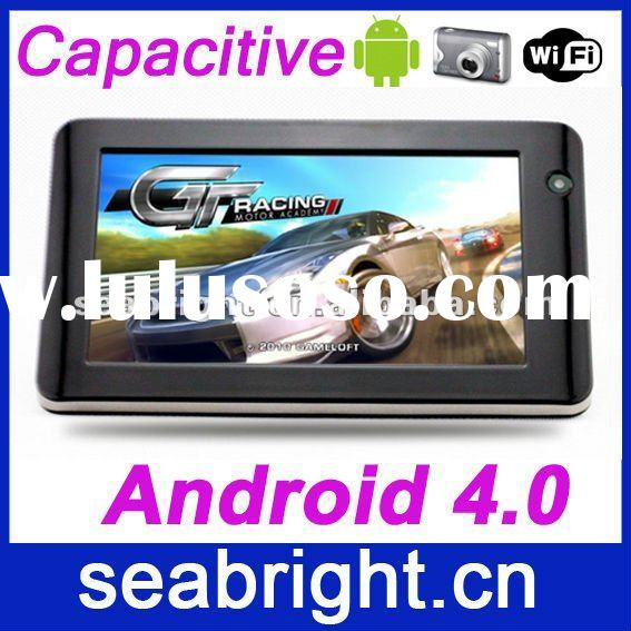 tablet pc (cheapest 7 inch android 4.0 capacitive touch Boxchip Allwinner A10 4gb/512mb camera)