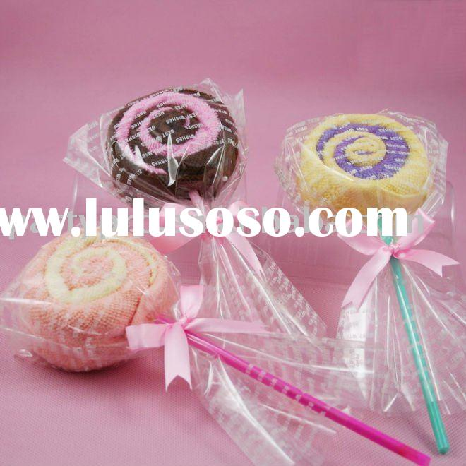 wedding door gift lollipop