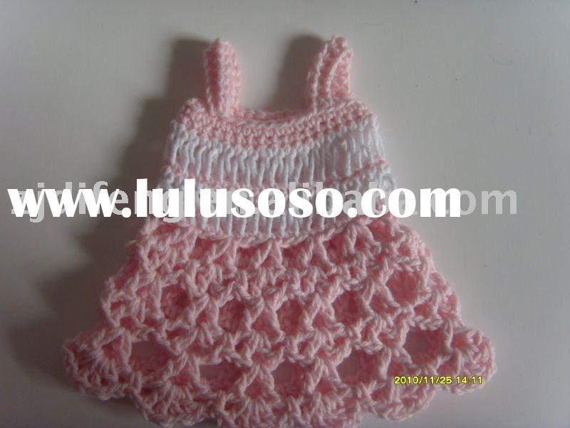 wedding gift favor mini crochet dress baby shower favor