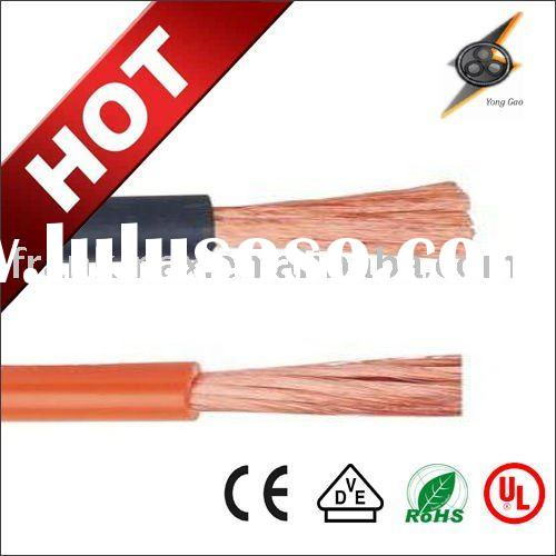 welding cable 70mm2 PVC rubber welding cable