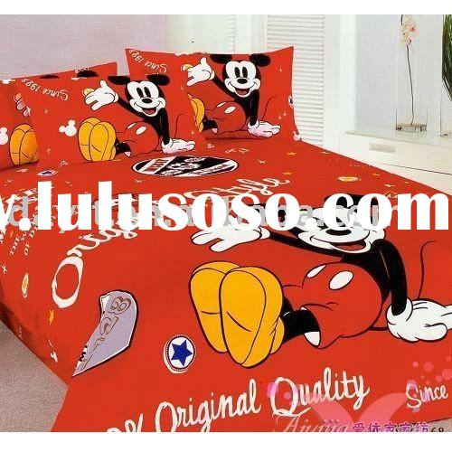 wholesale 12x Mickey Mouse Printed Bed Bedding set Gift Mix Order Drop Shipping C1148