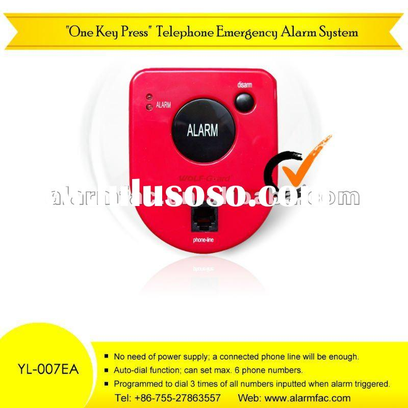 wireless chinese Mini personal security products and alarm