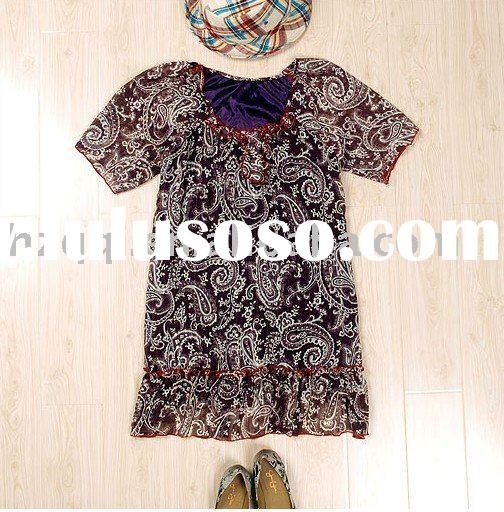 woman's chiffon blouse, patterns blouse skirt [cc1135]