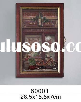 wooden key box/ wooden key cabinet/home decoration