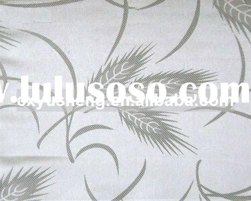 100% Polyester woven table cloth fabric