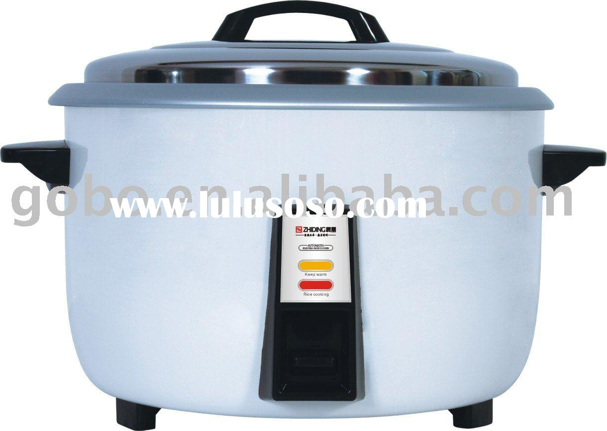 3 6L Commercial Electric Heating Cookers Steaming Cooking Kitchen Rice Cooker