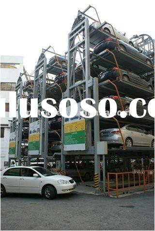 12 cars carrousel rotary parking system