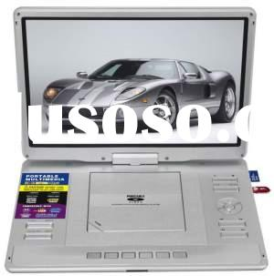 15.4'' 3D Portable DVD player with tv, use 3D glasses and 3D disks or movies, enjoy