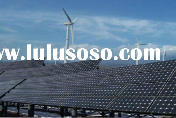 1MW/1000kw wind-solar hybrid farm project/wind generator/wind power generator/solar panels