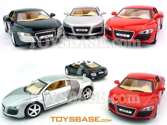 1:32 Pull Back small metal toy cars (Audi) PCH108106