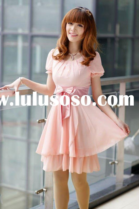 2011 new season hot-selling fashion chiffon dress wholesale