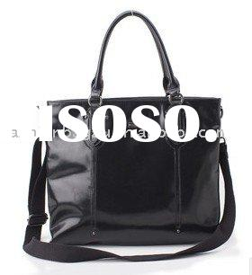 2011 official lady bright leather tote shoulder bag