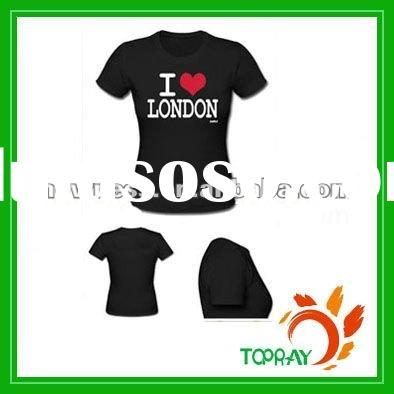 2012 London olympic printed short sleeve cotton t-shirt