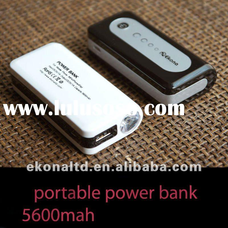2012 Newest Li-ion rechargeable phone power bank