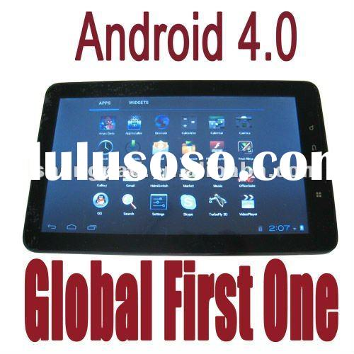 """2012 hot Android 4.0 10"""" capacitive cortex A9 MID Tablet PC manual support HDMI HDTV output+Fla"""